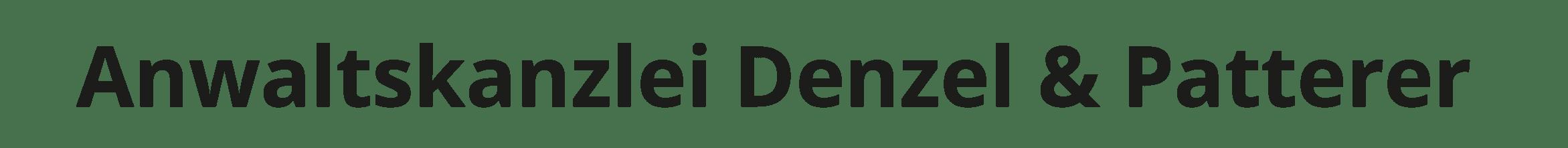 Anwaltskanzlei Denzel & Patterer